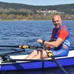 Václav Chalupa provozuje veslování na Lipně